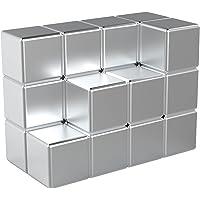 Magnetpro 20 imanes de neodimio de 8 x 8 x 8 mm, dados de 2,5 kg, extremadamente fuertes, perfectos para placas…
