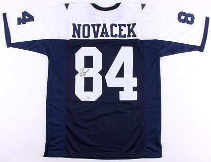 pretty nice 4671d 87345 Jay Novacek Autographed Signed Dallas Cowboys Jersey - JSA ...