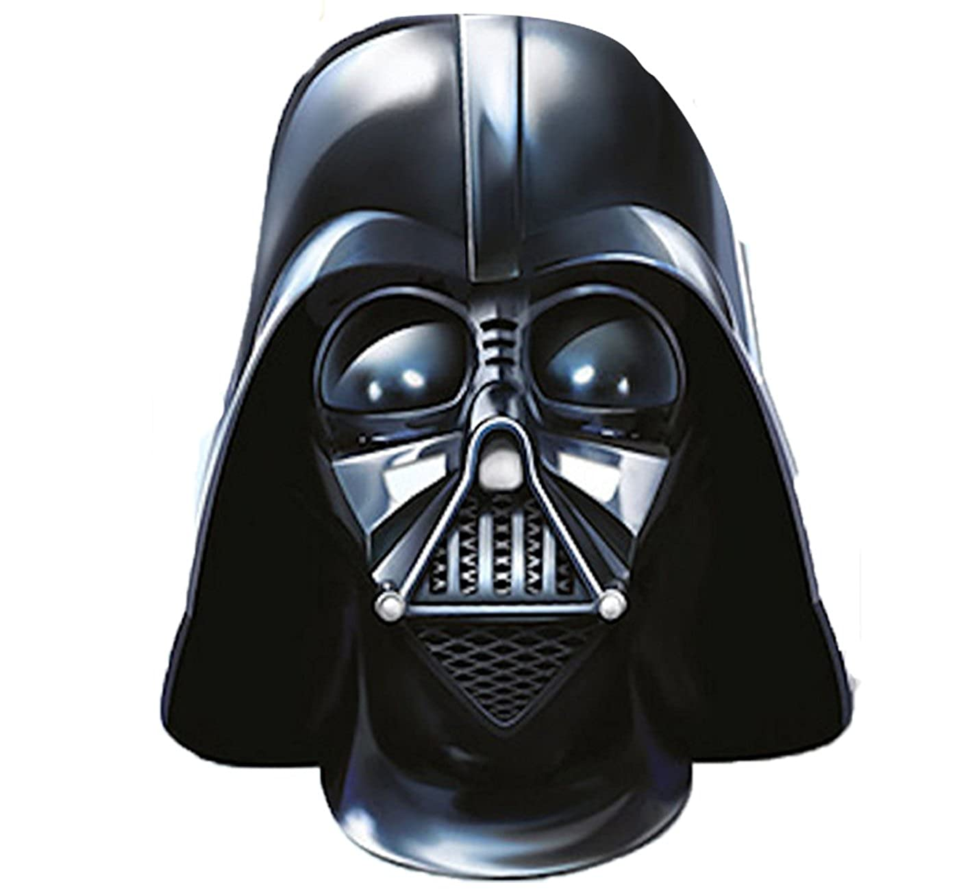 Vader Mask Star Wars Characters Yoda Kylo Ren Storm Fancy Dress Card Disney Film