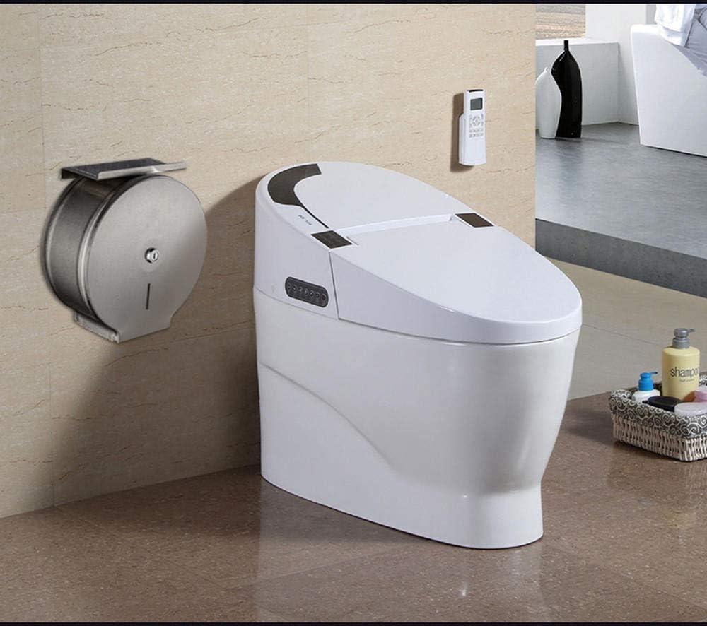 Distributeur de papier toilette Qiongtit Papier toilettes d/érouleur papier toilette pour salle de bain Mural WC Salles Acier Inoxydable Auto-Ddh/ésif Porte Rouleau Papier