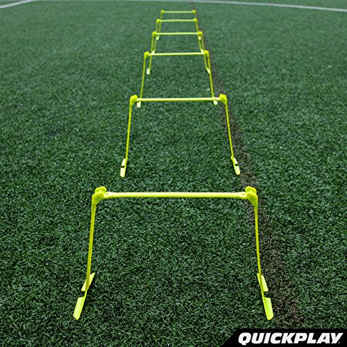 QuickPlay PRO Adjustable Height: 6'', 9'' + 12'' All-in-One Speed Hurdles (Set of 6) Speed Training Hurdles, Agility Hurdles and Plyometric Hurdles by QuickPlay (Image #6)