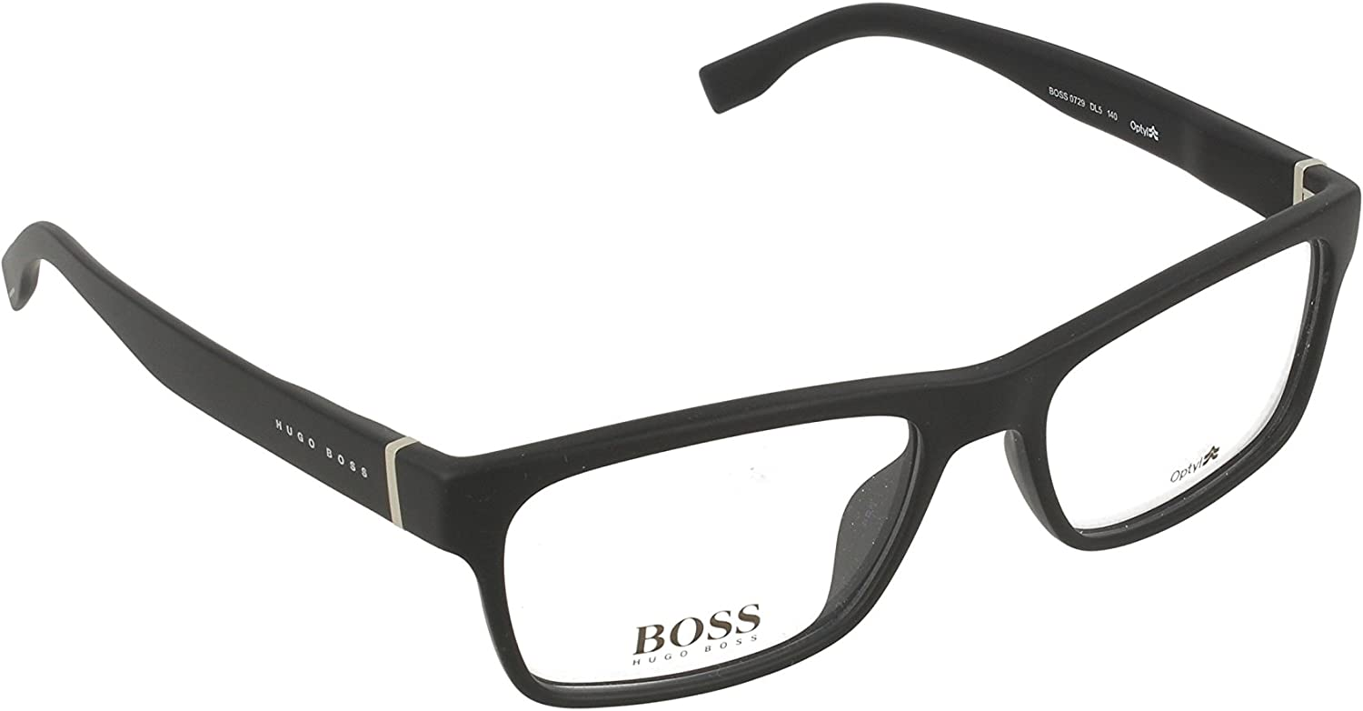 B015QT0V62 Optical frame Hugo Boss Optyl Matt Black (BOSS 0729 DL5) 61L56UinhzL.UL1500_
