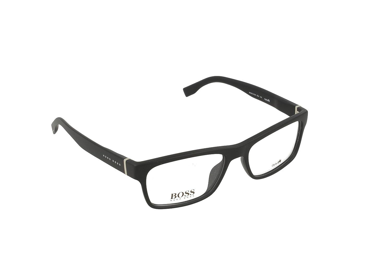 Amazon.com: Marco óptico Hugo Boss optyl Color Negro Mate ...