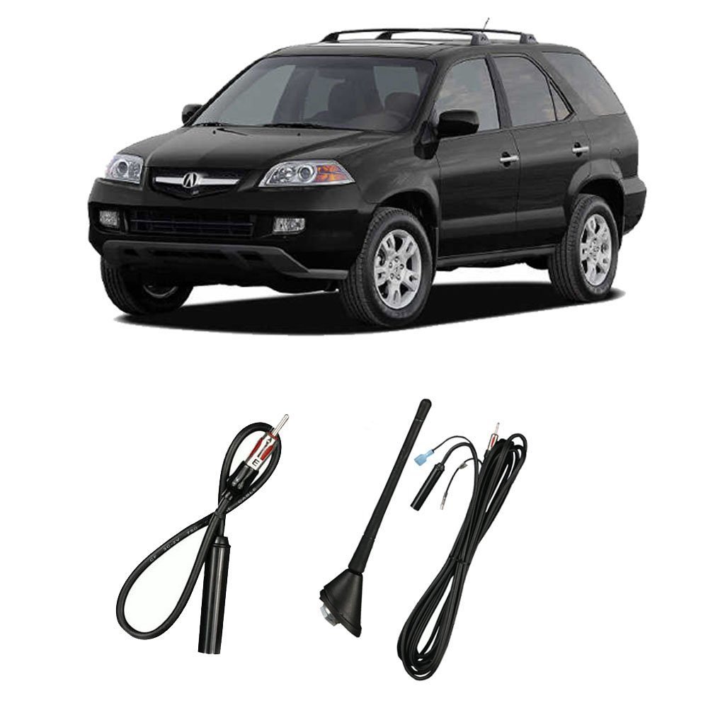 Fits Acura MDX 2001-2006 Factory OEM Replacement Radio Stereo Custom Antenna Mast