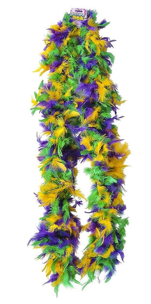 Rhode Island Novelty Dozen Mardi Gras 72 Feather Boas 20s Show Girl Cabaret Costume Accessory