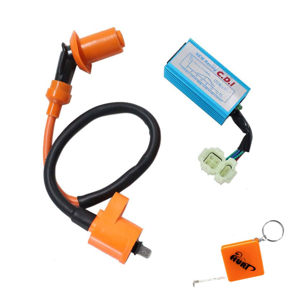 Amazon.com: HURI Ignition Coil with CDI for Tomberlin Crossfire 150 150R  150CC Go Kart: Automotive