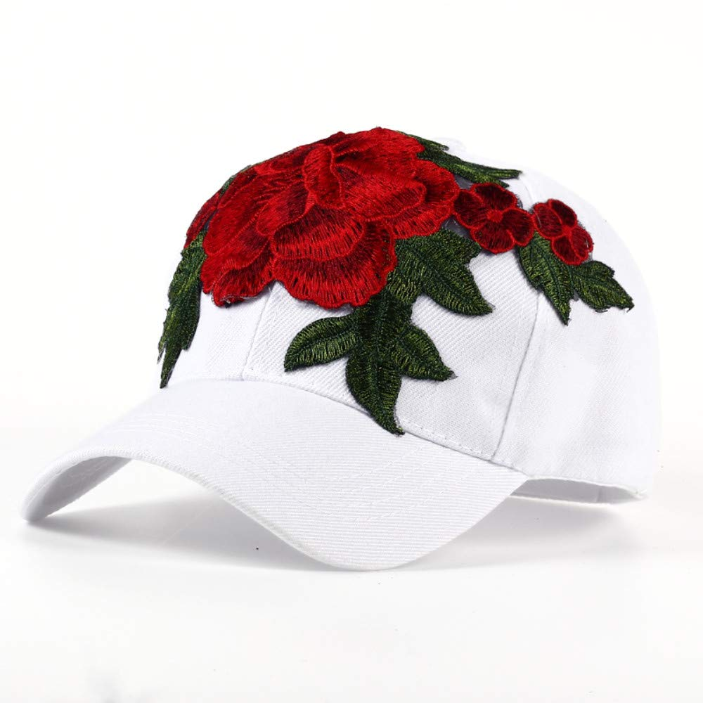 Chlally New pink Women Baseball Cap Lady Casquette Girls Snapback Caps Brand Bone Hats for Men Sun Hat Gorras Baseball Cap,White