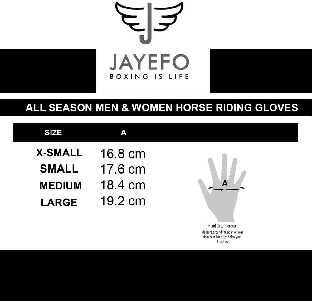 Jayefo Men /& Women Horse Riding Gloves Riding Gloves Equestrian Horseback Gloves Cotton Outdoor Sports Driving Riding Bike Workout Gardening Gloves.