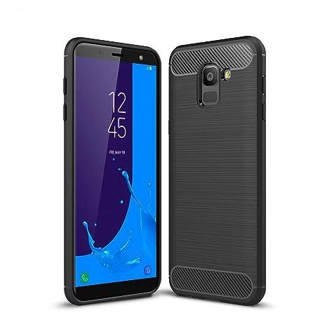 0fb81b7f2aea3 Acelive Coque Samsung Galaxy J6, TPU Silicone Housse Coque de protection  pour Samsung Galaxy J6