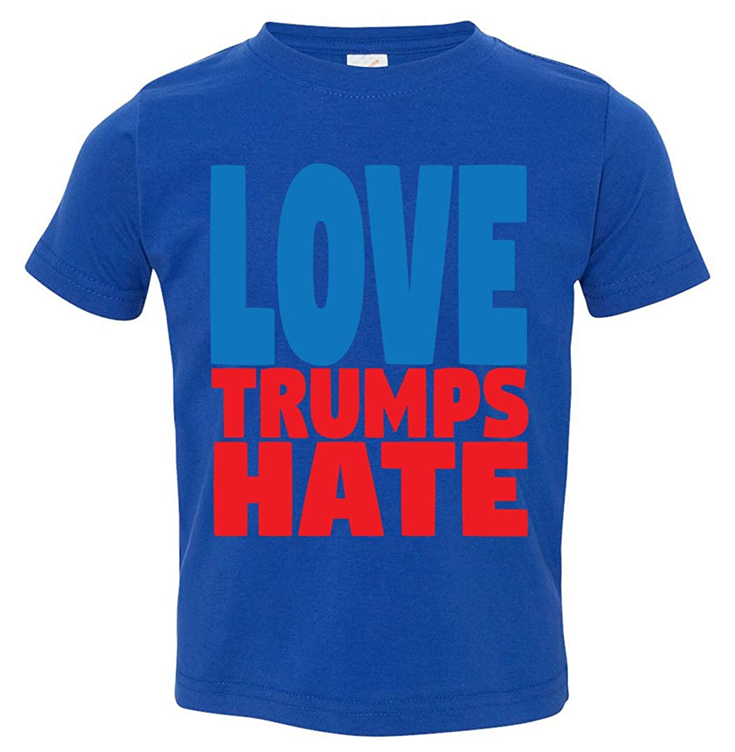 Tenacitee Babys Love Trumps Hate Shirt