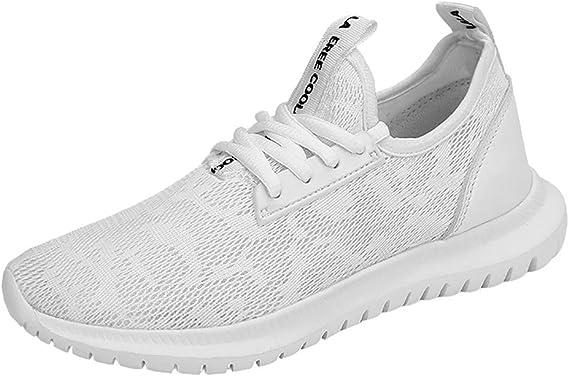 Darringls Zapatos para Hombre,Zapatillas Running Hombre Mujer Zapatos Deporte para Correr Trail Fitness Sneakers Ligero Transpirable Zapatos para Correr En Montaña Asfalto Aire Libre Deportes: Amazon.es: Ropa y accesorios