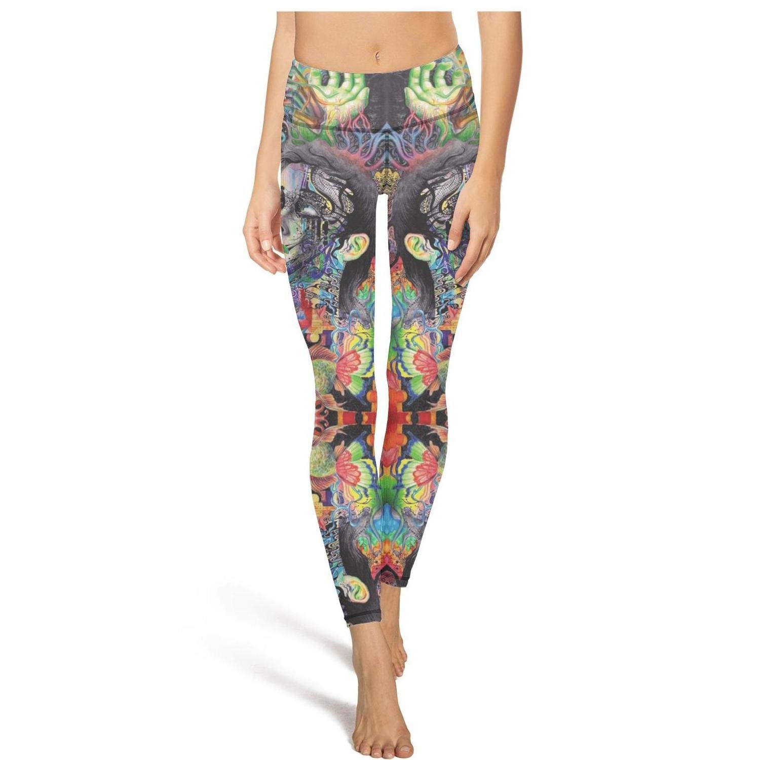 Popular high Waisted Leggings for Women Training Yoga Pants ...