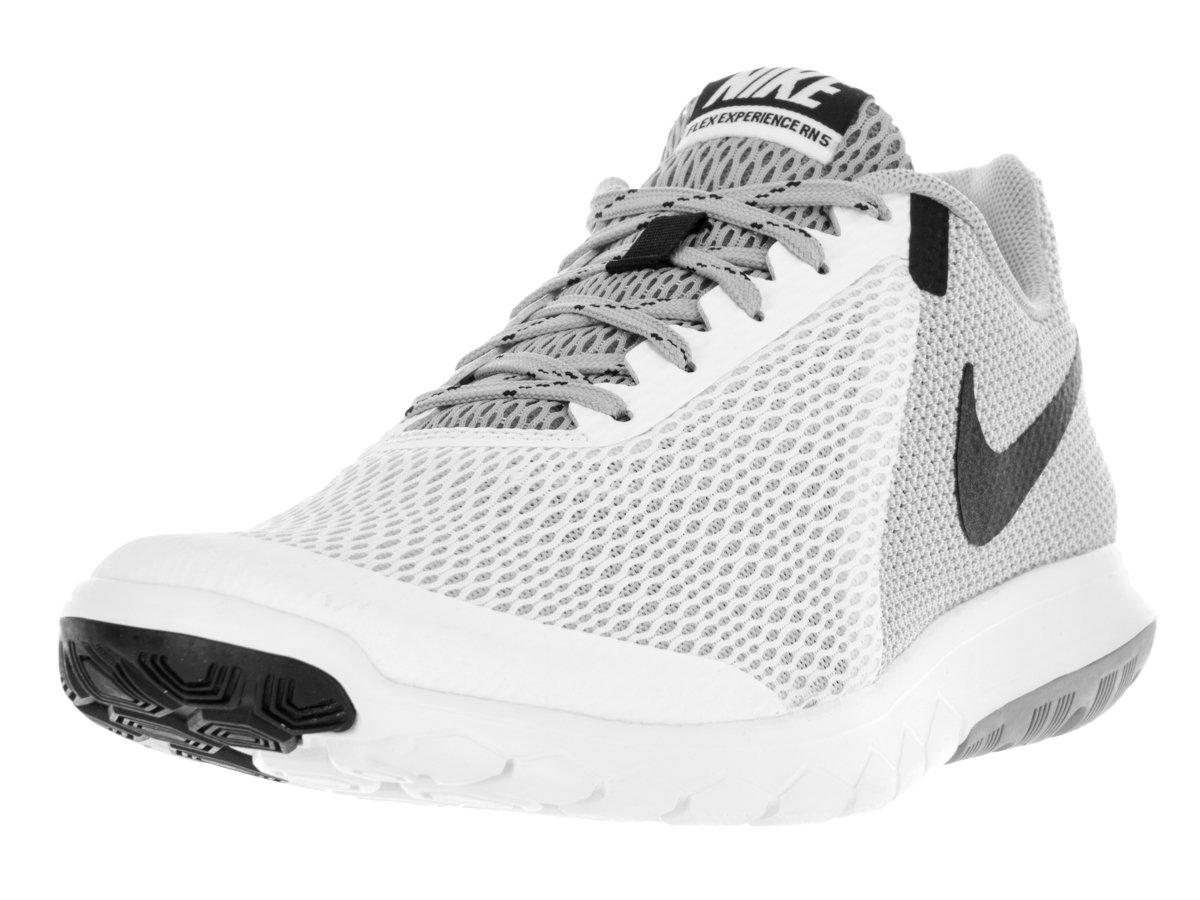 Nike Flex Experience RN 5, Zapatillas de Running para Hombre 42.5 EU|Blanco (Blanco (White/Black-wolf Grey))