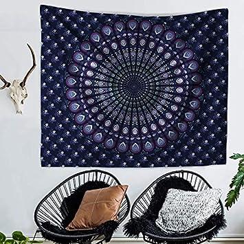 Mandala Tapiz Floral Tabla de pared adornos cortina pared Decor Mesa sofá funda Picnic Manta Toalla