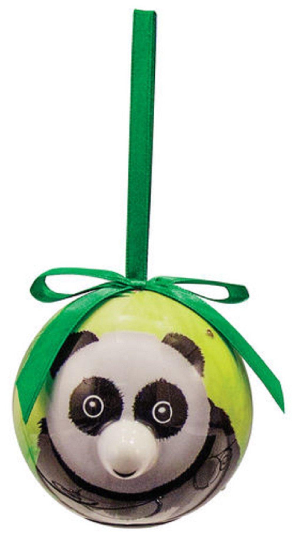 D&D Distrubutions D&D Blinking Animal Christmas Ornament with Extra Batteries (Panda) by D&D Distrubutions