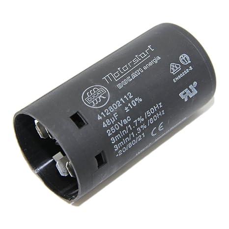 412802410 Capacitor For Motors Start 100uf 250v ø455x84mm
