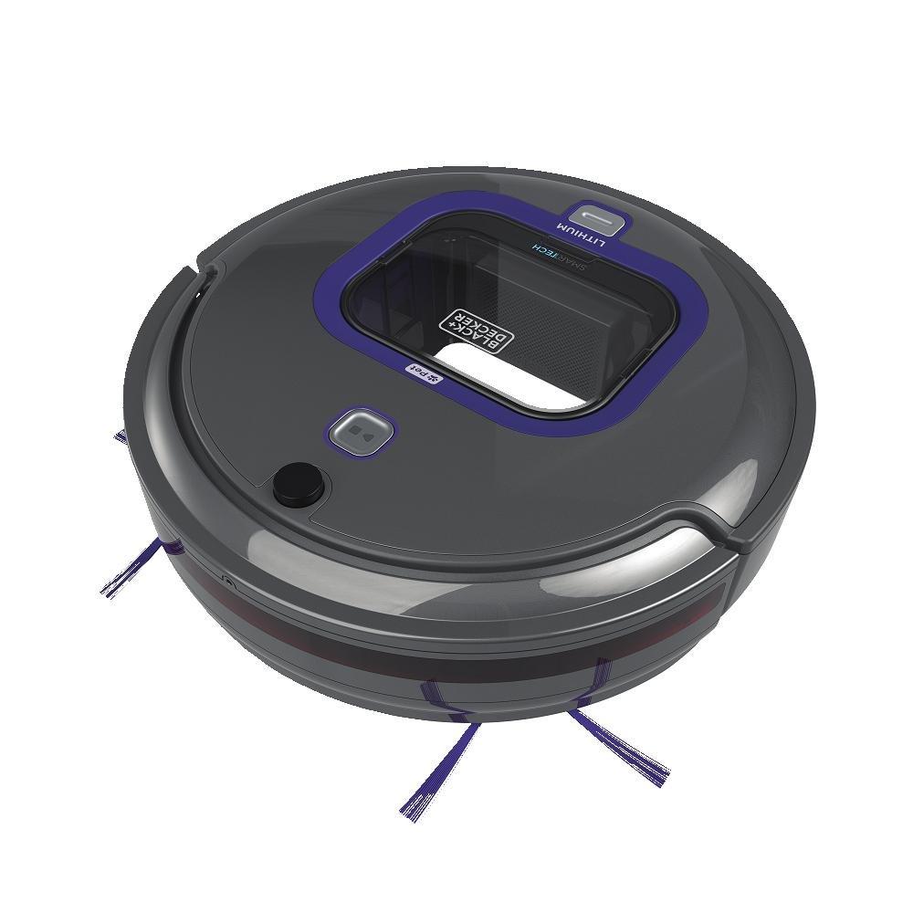 BLACK DECKER Vac HRV425B07 SMARTECH Lith Pet Robotic Vacuum