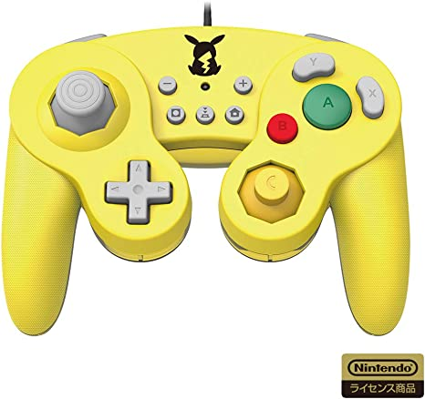 Hori - Switch Mando USB Estilo Game Cube Pikachu (Nintendo Switch ...