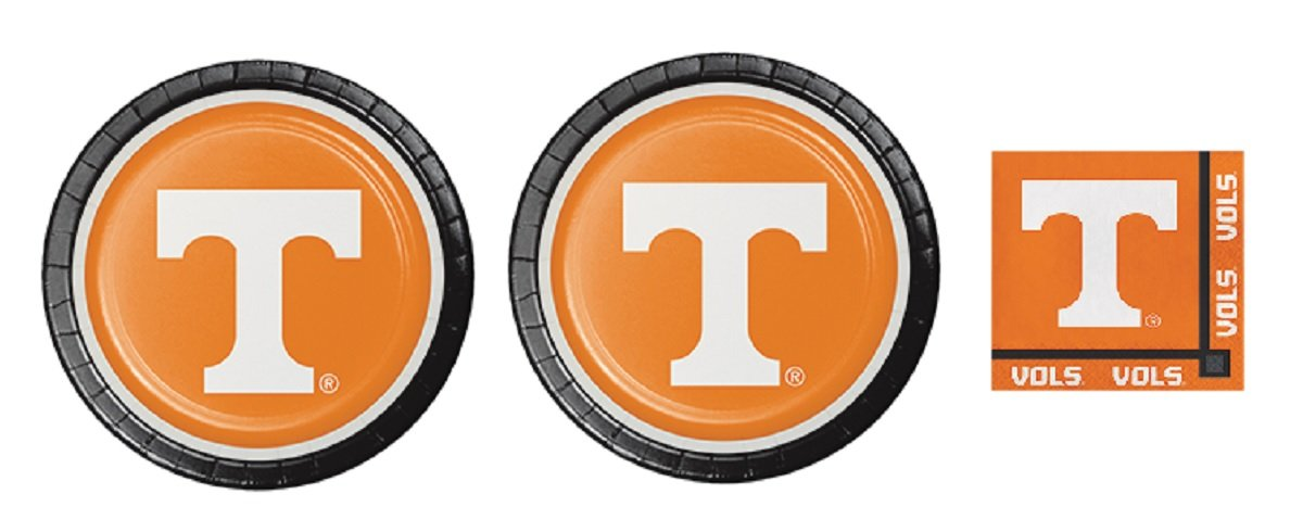 University of Tennessee Vols Party Supply Bundle (Serve 16)