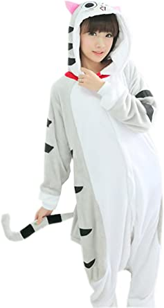 La vogue Anime Pijamas Cosplay Halloween Carnaval Mujer ...