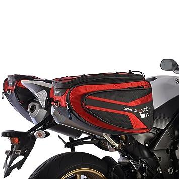 Oxford p50r ol315 - Bolsa Lateral para Moto con Red de Carga ...