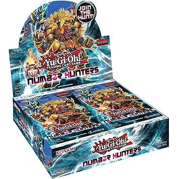 Yu Gi Oh Number Hunters Booster - Juego de cartas (caja de ...