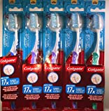 Colgate Total Advanced Floss-Tip Toothbrush - Soft (Pack of 6)