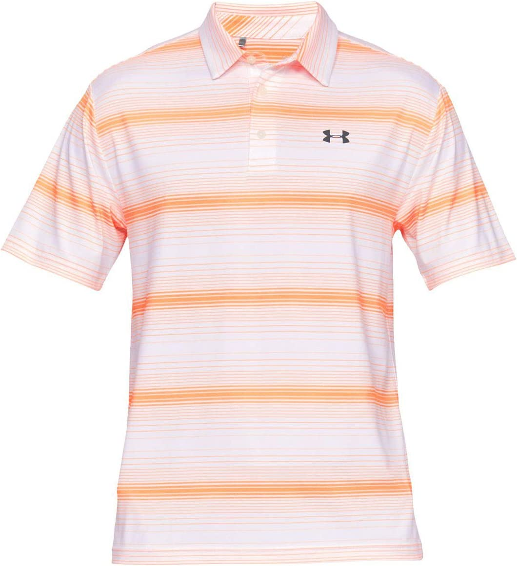 Under Armour Playoff 2.0 Polo T Shirt with Short Sleeves Short Sleeve Polo Shirt with Sun Protection Men
