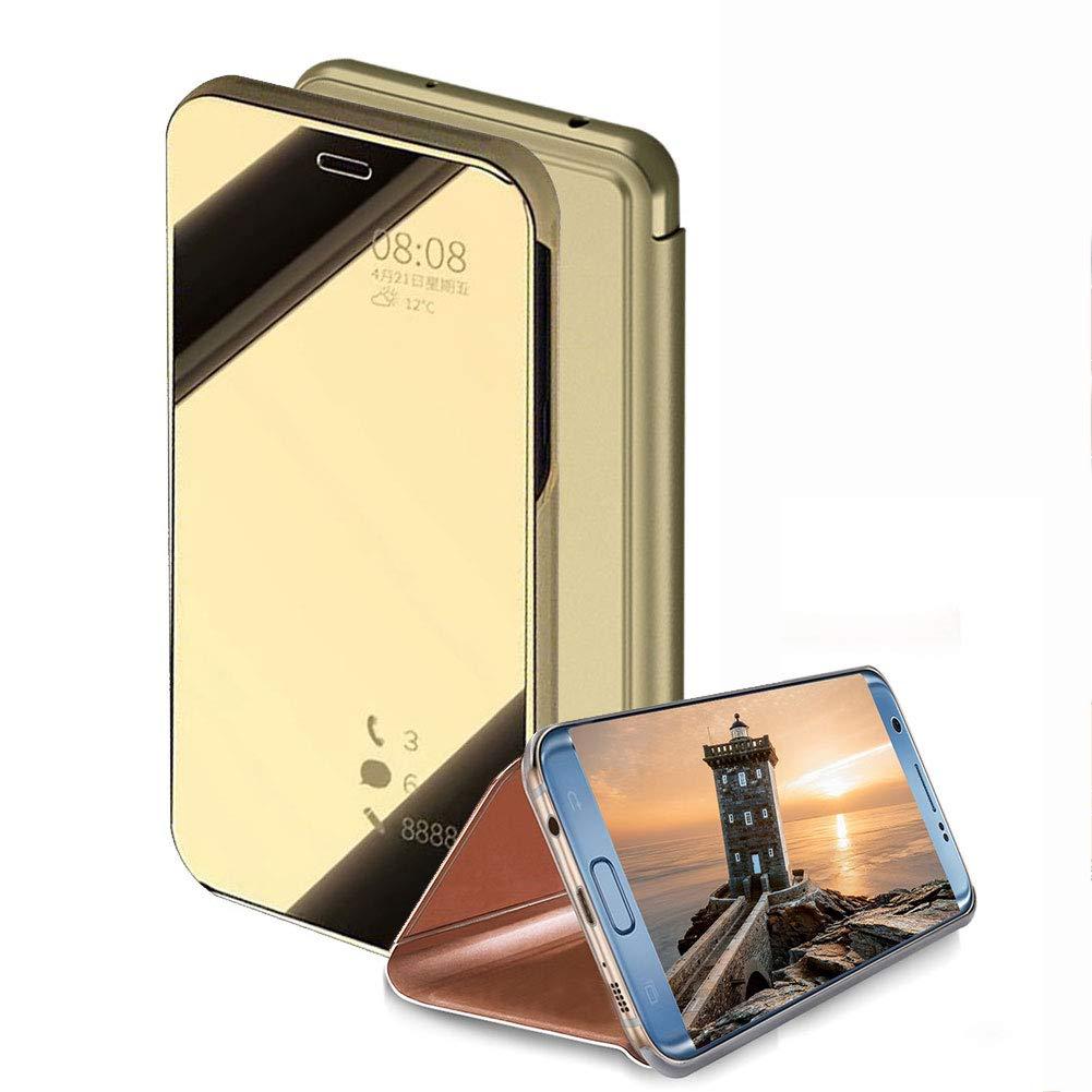low priced b32af e5e1d Amazon.com: Flip Mirror Case for Samsung Galaxy J2 Pro 2018/Grand ...