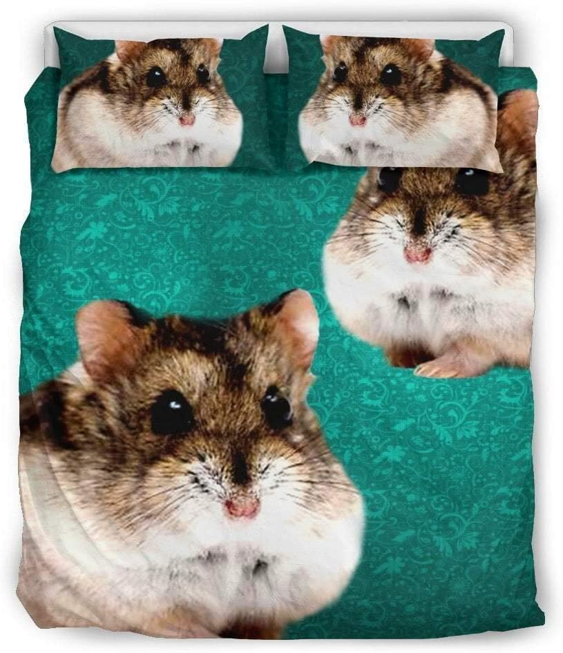 Paws With Attitude Campbell's Dwarf Hamster Print Bedding Set