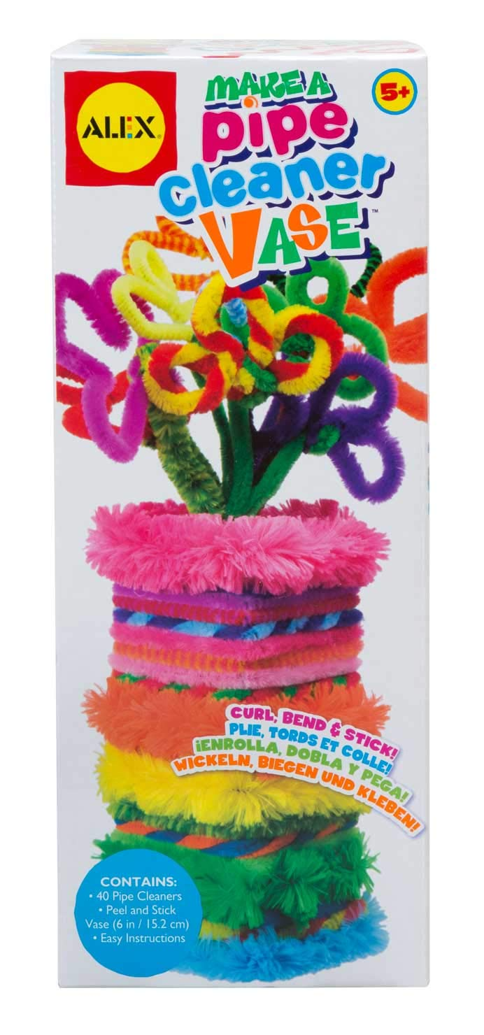 ALEX Toys Craft Pipe Cleaner Vase