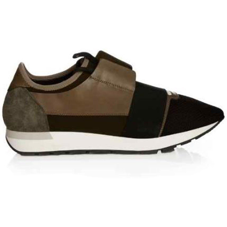 8e2f17c6e118 Balenciaga Race Runner Multi-Panel Low-Top Trainers For Mens (6 UK 40 EU)   Amazon.co.uk  Shoes   Bags