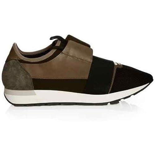 Balenciaga - Zapatillas para hombre verde verde caqui, color verde, talla 43 EU: Amazon.es: Zapatos y complementos