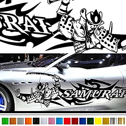 Samurai japan style car sticker car vinyl side graphics 226 custom stickers decals 【