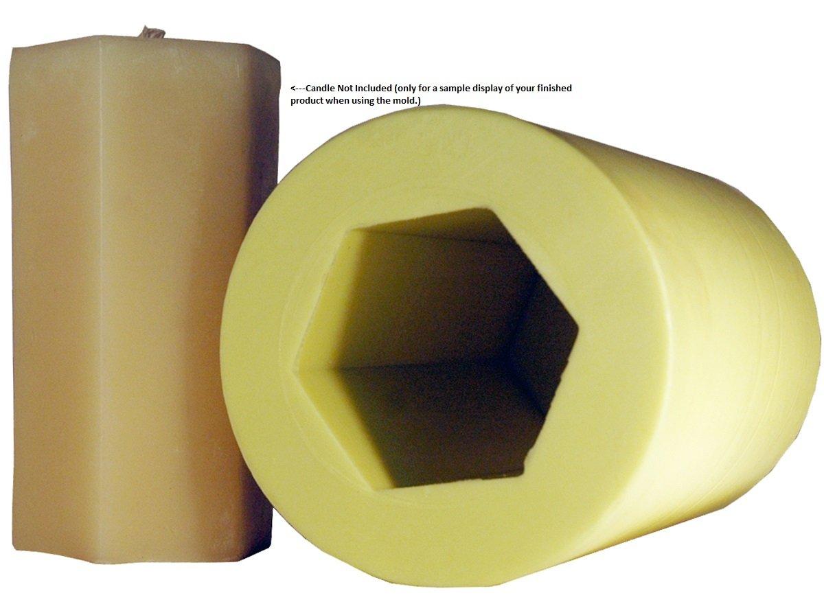 Mann Lake ''Hexagon'' Candle Mold, 6-Inch