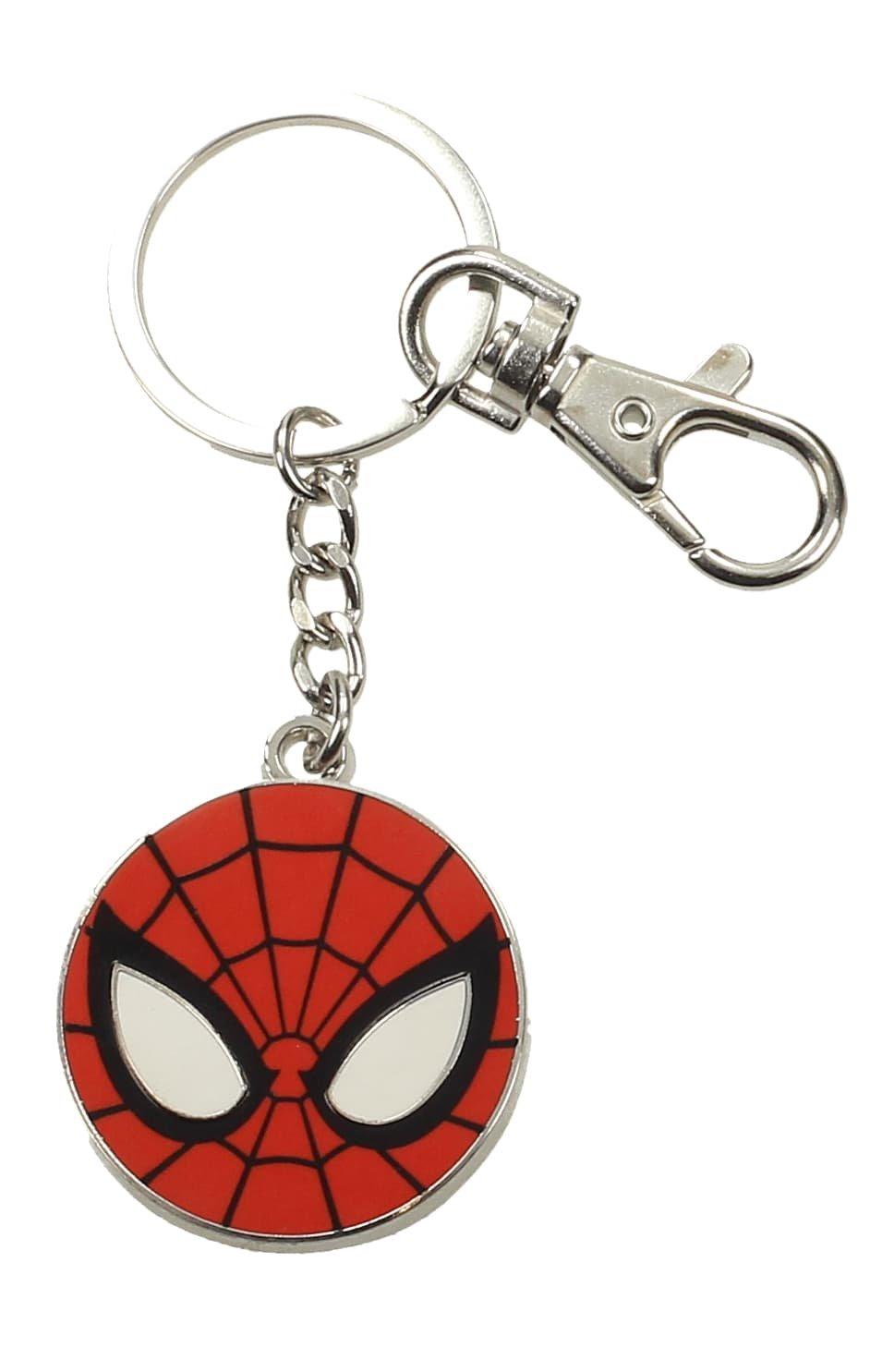 Amazon.com: SD toys - Porte Clé Marvel - Spider Man Logo ...