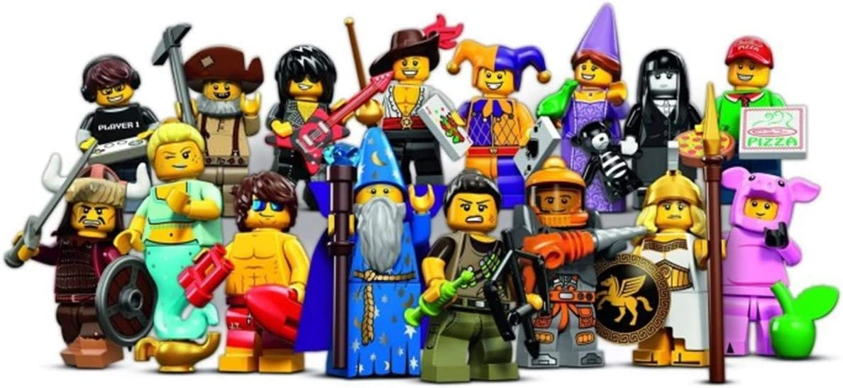 Spooky Girl Series 12 Lego Minifigure 71007