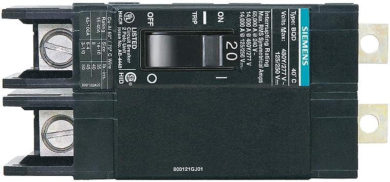 480VAC BQD Circuit Breaker 30A 3P