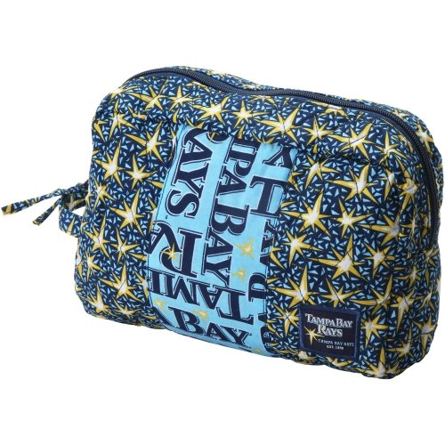 Tampa Bay Rays 2011 Fabric Cosmetic Case-2Nd Line for $<!--$11.43-->