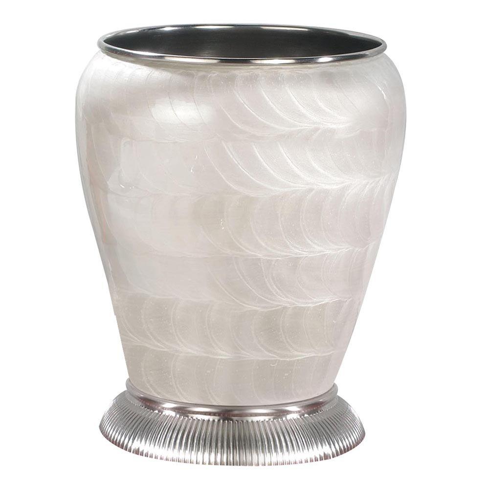 Satin Nickel nu steel Wastebasket