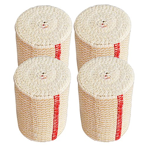 """GT 3"""" Cotton Elastic Bandage with Hook & Loop Closure on bot"""