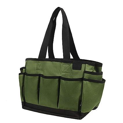 1x Garden Tool Bag Oxford Fabric Garden Carrier Tote Organizer Planting Set New