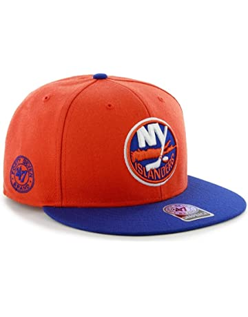 ad0472cb4 NHL New York Islanders Back Slide Adjustable Snapback Cap ( 47 Brand)