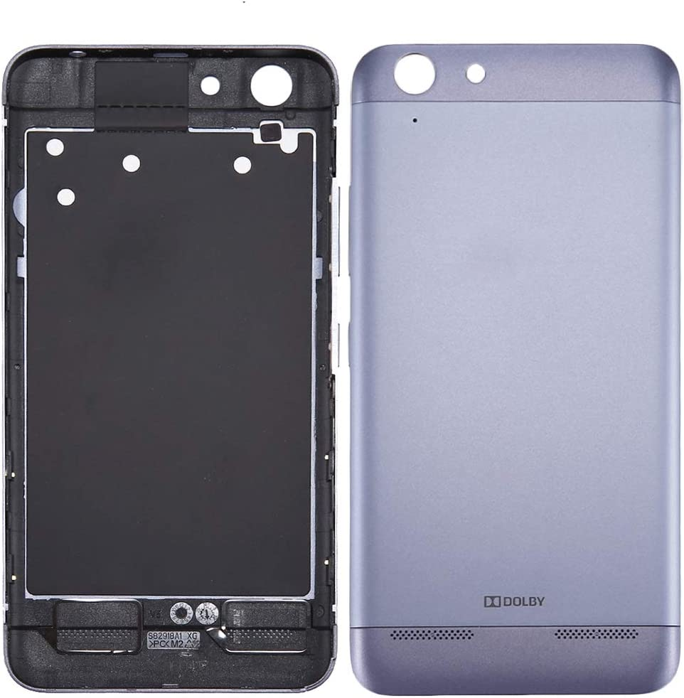 YINZHI Replace Spare Part, Compatible for Lenovo Vibe K5 / A6020 Battery Back Cover(Grey) Repair Part (Color : Grey)