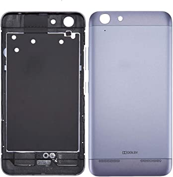 MOBILEACCESSORIES DE Chen JIAN Cheng TENGLIN for la contraportada de la batería Lenovo Vibe K5 / A6020 (Gris) (Color : Grey): Amazon.es: Electrónica