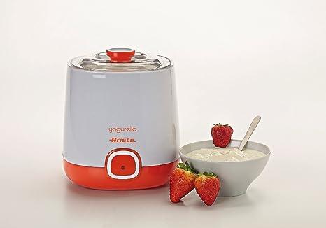 Ariete 621 Yogurtera, capacidad 1 litro, 20 W, 12 horas ...