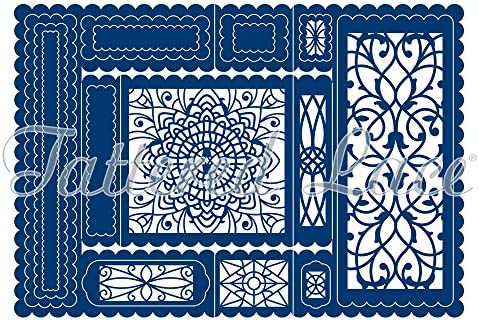 Tattered Lace Decorative Trifold Cutting Dies Set TLD0070 Includes 20-Dies