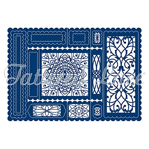Tattered Lace Decorative Trifold Cutting Dies Set TLD0070 Includes 20-Dies by Tattered Lace