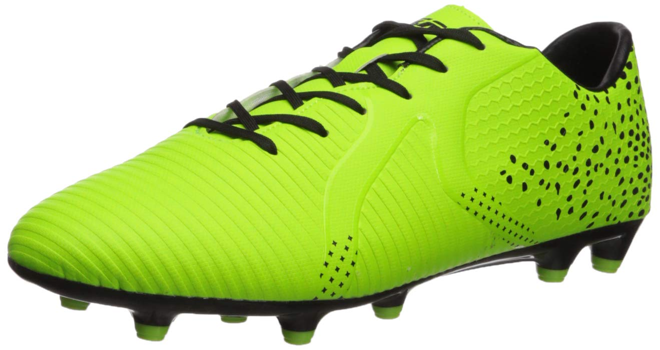 Vizari Rialto FG Green/Black Size 8.5 Soccer Shoe, Regular US by Vizari