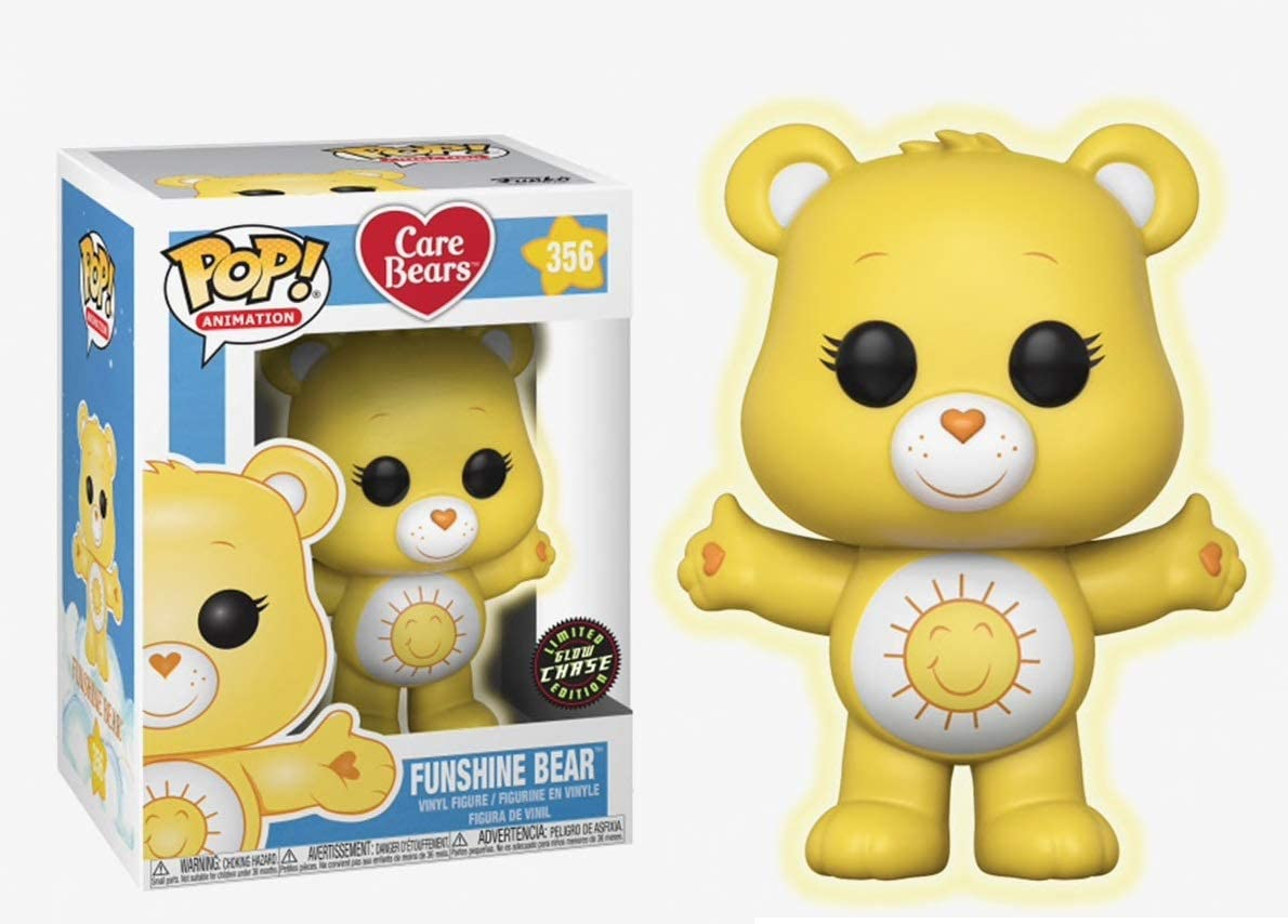 Funko Pop Animation: Care Max free shipping 44% OFF Bears - CHASE Funshine G Variant Bear